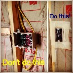 How to air seal the wall cavity and prevent improper insulation install.