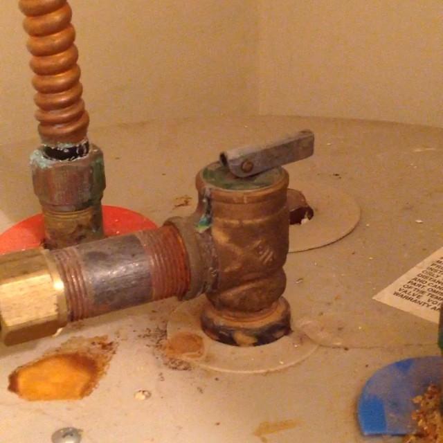 Water Heat TPR Valve Drain #builditright