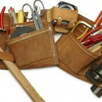 Leather tool belt posted by Home Inspector Gary Smith