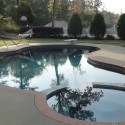 Swimming pool in Mississippi Photo was taken by Gary Smith - Professional Home Inspector and Home Builder.