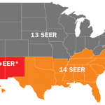 SEER Rating MAP
