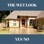 Wet Look Concrete
