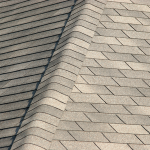 Picture of roofing material