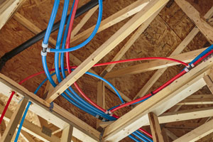 Will freezing temps ruin pex pipe for Pex water pipe insulation