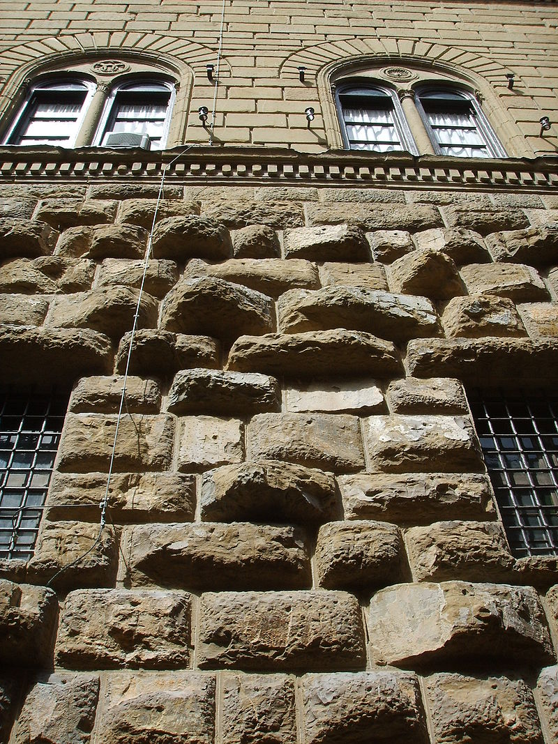 Picture of Rusticated Stone Wall