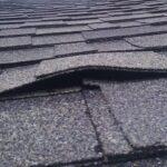 raised area on shingle roof