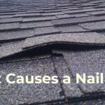 Shingle Roof Nail Pop