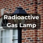 Gas Lamp in Front Yard